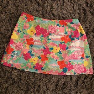 Lilly Pulitzer reversible wrap mini skirt